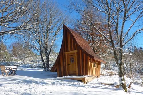 La Bergerie du Plateau : Guest accommodation near Lachapelle-Graillouse