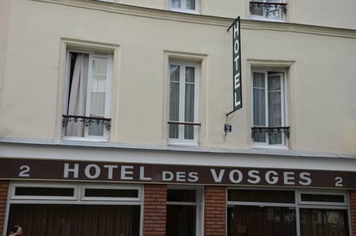 Hotel des Vosges : Hotel near Paris 20e Arrondissement
