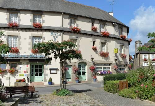 Au Relais du Porhoet : Hotel near Saint-Malo-des-Trois-Fontaines