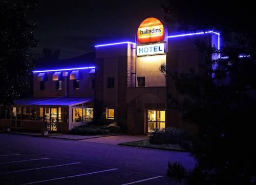 Hôtel balladins Genève / St-Genis Pouilly : Hotel near Saint-Jean-de-Gonville
