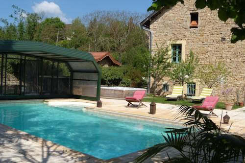 La Bicyclette Fleurie : Bed and Breakfast near Annoisin-Chatelans