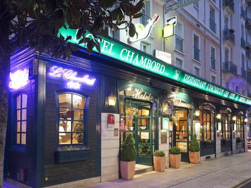 Hotel Chambord : Hotel near Le Vernet