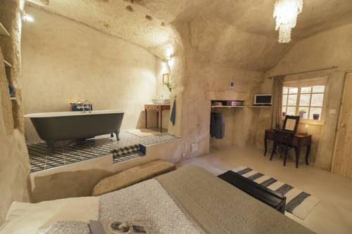 Amboise Troglodyte : Bed and Breakfast near Nazelles-Négron