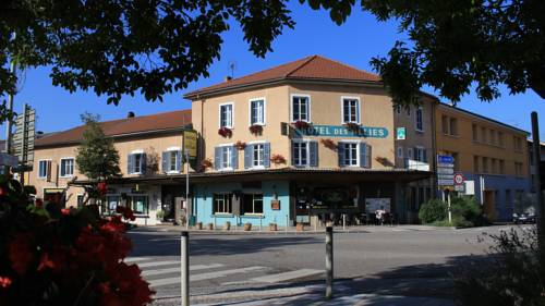 Hôtel Des Alliés : Hotel near Boyeux-Saint-Jérôme