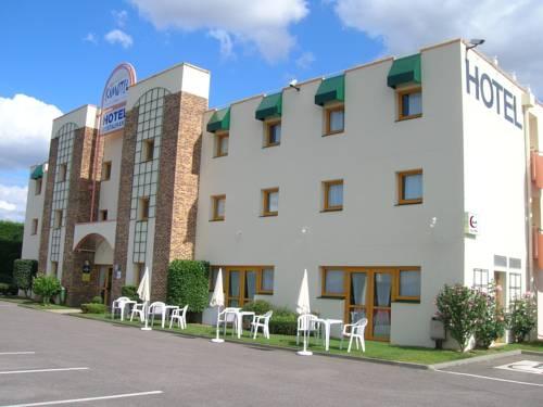 Kimotel Epône-Flins : Hotel near La Falaise