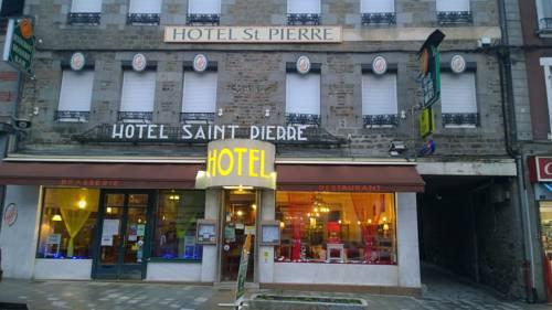Hôtel Saint - Pierre : Hotel near Villedieu-les-Poêles