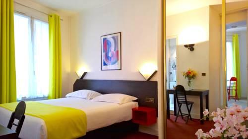 Boulogne Résidence Hotel : Guest accommodation near Boulogne-Billancourt