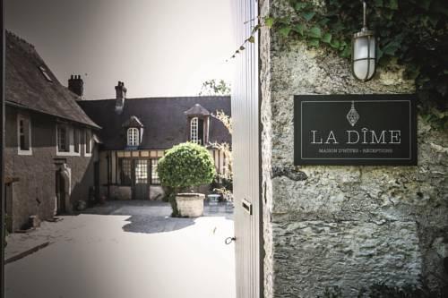 La Dime de Giverny - Cottages : Guest accommodation near Blaru