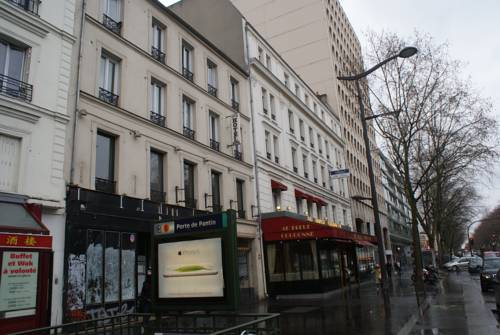 Hotel Agorno Cite de la Musique : Hotel near Le Pré-Saint-Gervais