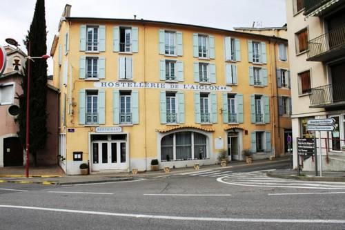 Hôtel l'Aiglon : Hotel near Draix