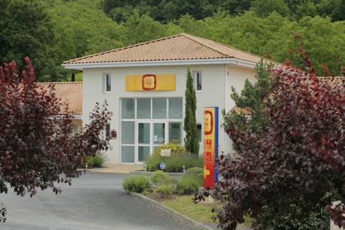 P'tit Dej-Hotel Brive-la-Gaillarde Ouest : Hotel near Terrasson-Lavilledieu
