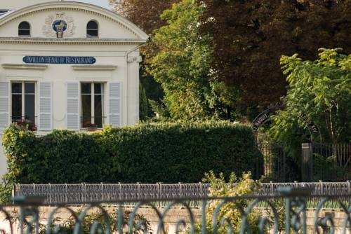 Pavillon Henri IV : Hotel near Le Port-Marly