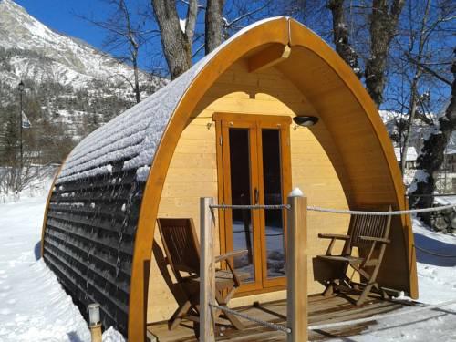 Les Cabanes du Martagon : Guest accommodation near Villars-Colmars