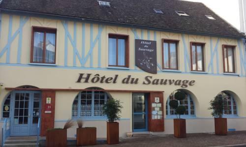 Hôtel du Sauvage : Hotel near Lescherolles