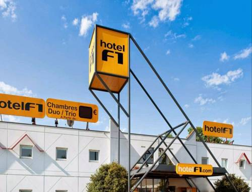 hotelF1 Bordeaux Ouest Eysines : Hotel near Saint-Aubin-de-Médoc