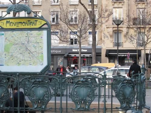 Ménil Bon Temps : Hotel near Paris 20e Arrondissement