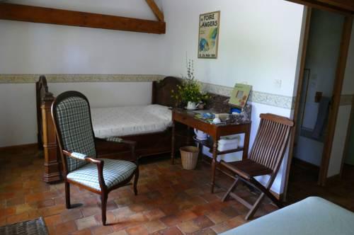 Anjubauderie : Bed and Breakfast near Aubigné-sur-Layon