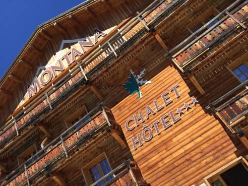 Montana Chalet Hôtel : Hotel near Enchastrayes