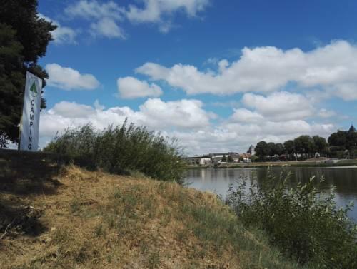 Camping de l'île : Guest accommodation near Cosne-Cours-sur-Loire
