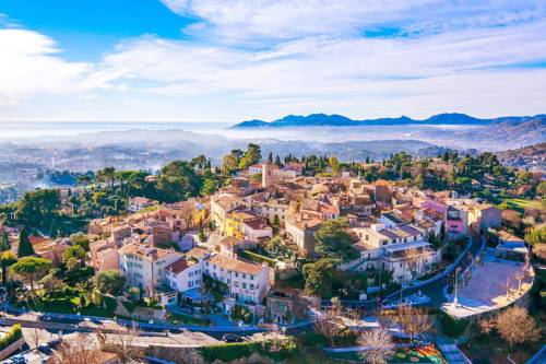 Côte d'Azur View of Cannes Bay : Guest accommodation near Mougins