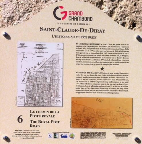 Le Relais de Nozieux : Guest accommodation near Saint-Claude-de-Diray