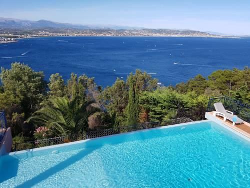 Super View Villa : Guest accommodation near Théoule-sur-Mer