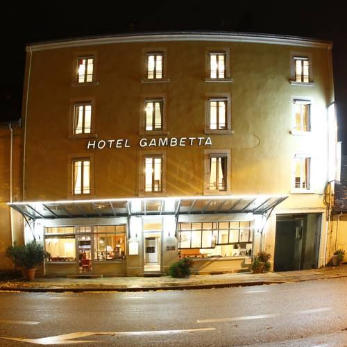 Hôtel Gambetta : Hotel near Saint-Laurent-la-Roche