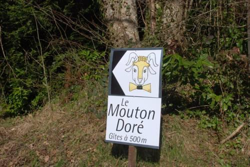 Le Mouton Doré : Guest accommodation near Reignier-Esery