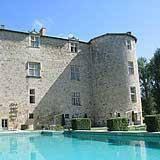 Château de Fourcès : Bed and Breakfast near Sos