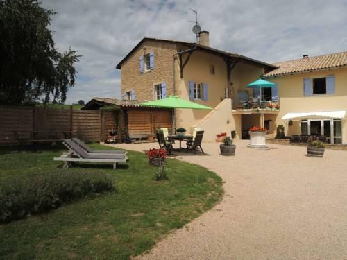 La Côte Des Blancs : Guest accommodation near Cormoranche-sur-Saône