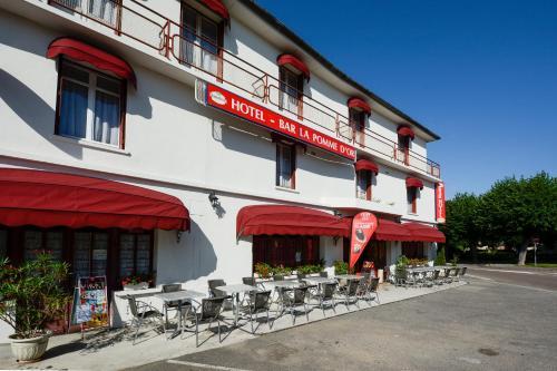 HOTEL DE LA POMME D'OR : Hotel near Aube
