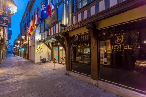 Hotel Relais Saint Jean Troyes : Hotel near Aube