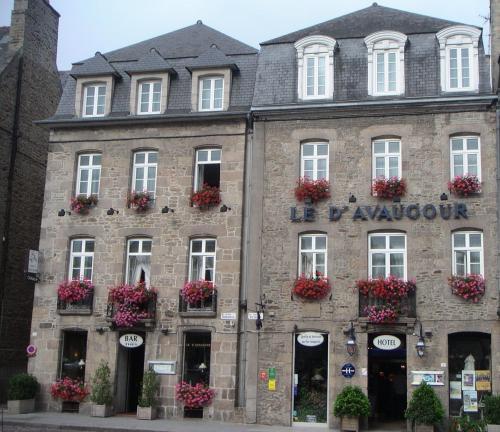 Hôtel Le D'Avaugour : Hotel near Côtes-d'Armor