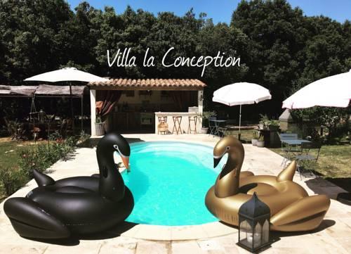 B&B - Villa Conception - Chambre d'hôtes Atypique : Bed and Breakfast near Moissac-Bellevue