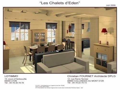 House Les chalets d' eden : Guest accommodation near Saint-Étienne-en-Dévoluy