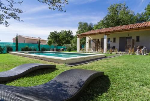 Le Jardin de Lau : Guest accommodation near Beaumes-de-Venise