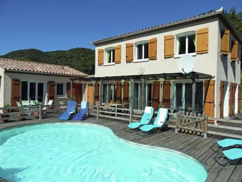 Villa piscine nature et mer : Guest accommodation near Albières