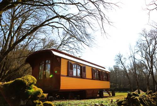 les roulottes du LOT : Bed and Breakfast near Flaujac-Gare