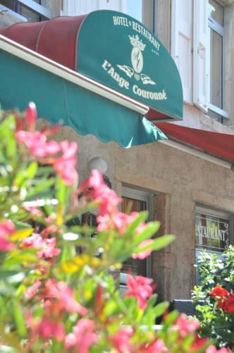 Logis Hotel L'ange Couronne : Hotel near Lurcy
