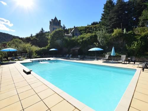 Appartement - Chateau en Ardache La Reine : Apartment near Saint-Julien-Labrousse