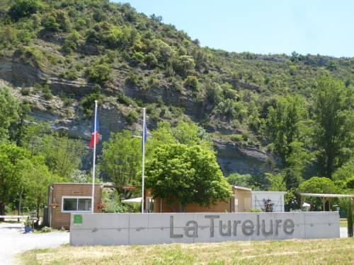 Camping La Turelure : Guest accommodation near Laurac-en-Vivarais