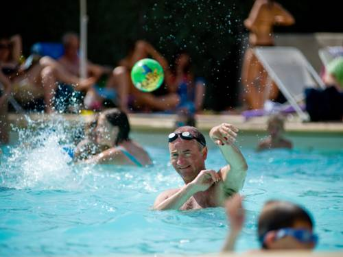 Camping d'Angers : Guest accommodation near Bouchemaine