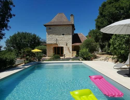 Au Coeur du Bonheur : Guest accommodation near Loubressac