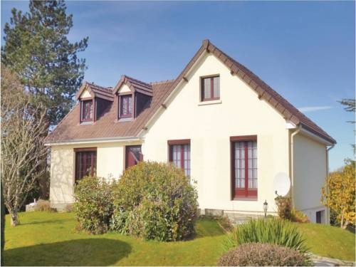 Three-Bedroom Holiday home Tollevast with a Fireplace 03 : Guest accommodation near Breuville