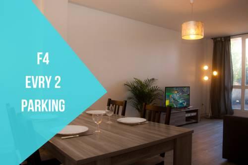 F4 Evry 2 Agora : Apartment near Bondoufle