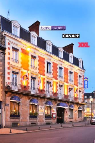 Best Western Hôtel Des Voyageurs : Hotel near Montautour