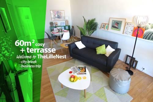 The Lille Nest : Apartment near Mons-en-Barœul