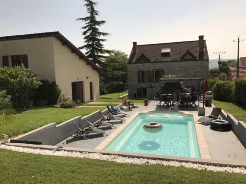 Gite des Orchidees : Guest accommodation near Saint-Agnan