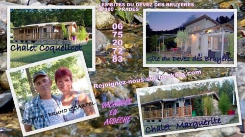 gite du devez des bruyéres : Guest accommodation near Lalevade-d'Ardèche