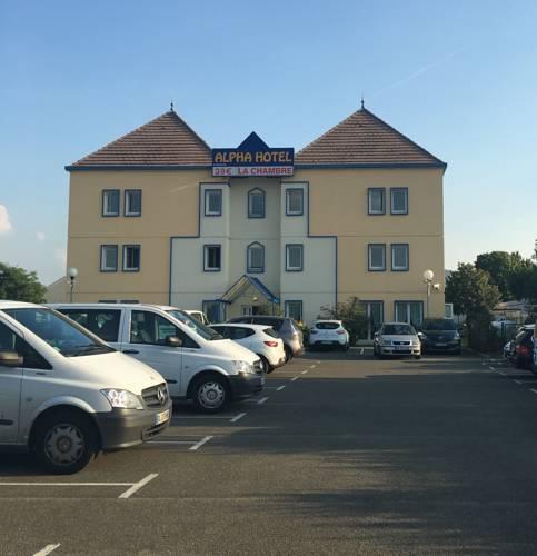 Alpha Hotel : Hotel near Oinville-sur-Montcient